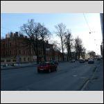 Часть Б. Сампсониевского пр-та на подходе к месту, где когда-то жили АБС.